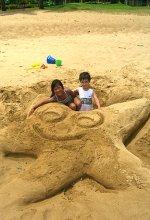 Kalapaki Beach starfish