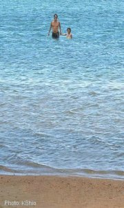 Anini Beach shallow