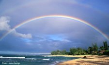 Double Kauai rainbow
