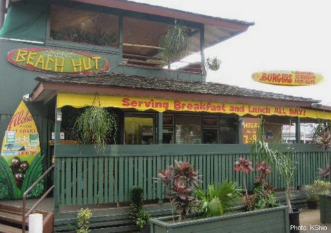 Kalapaki Beach Hut restaurant