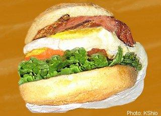 Beach Hut sandwich