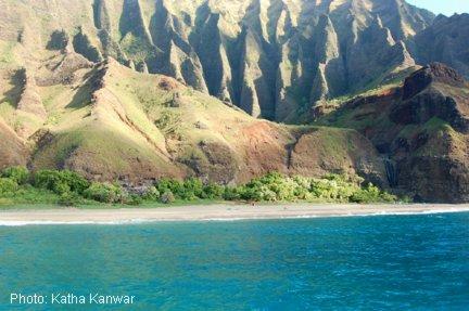 Kauai northeast shore